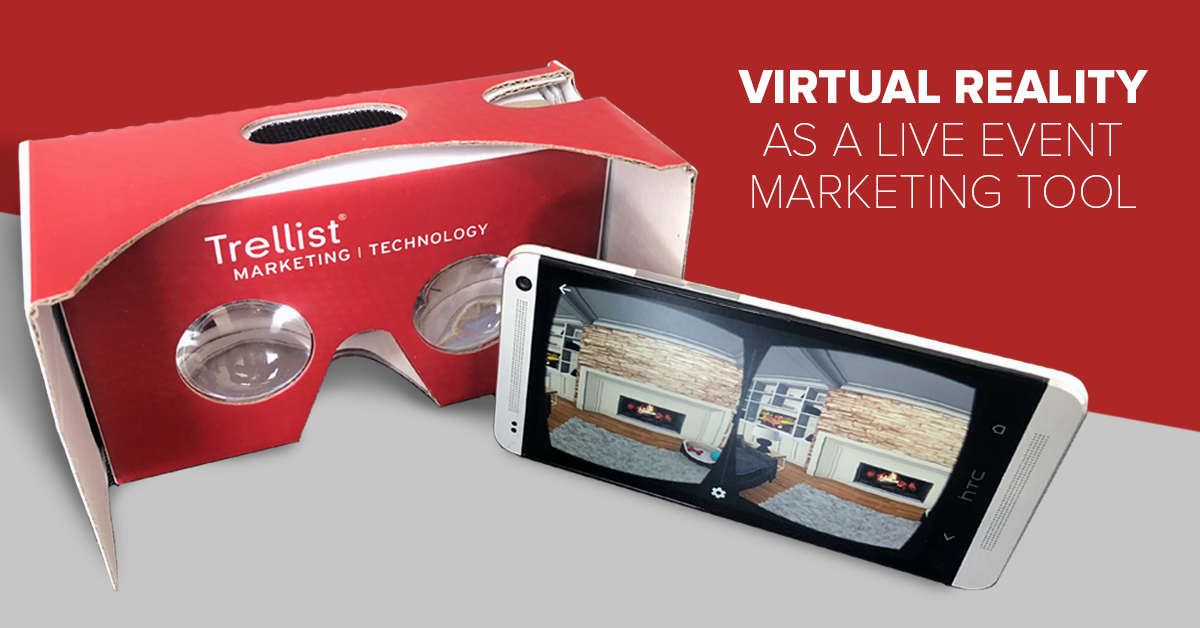 Trellist example of virtual reality as an event marketing tool